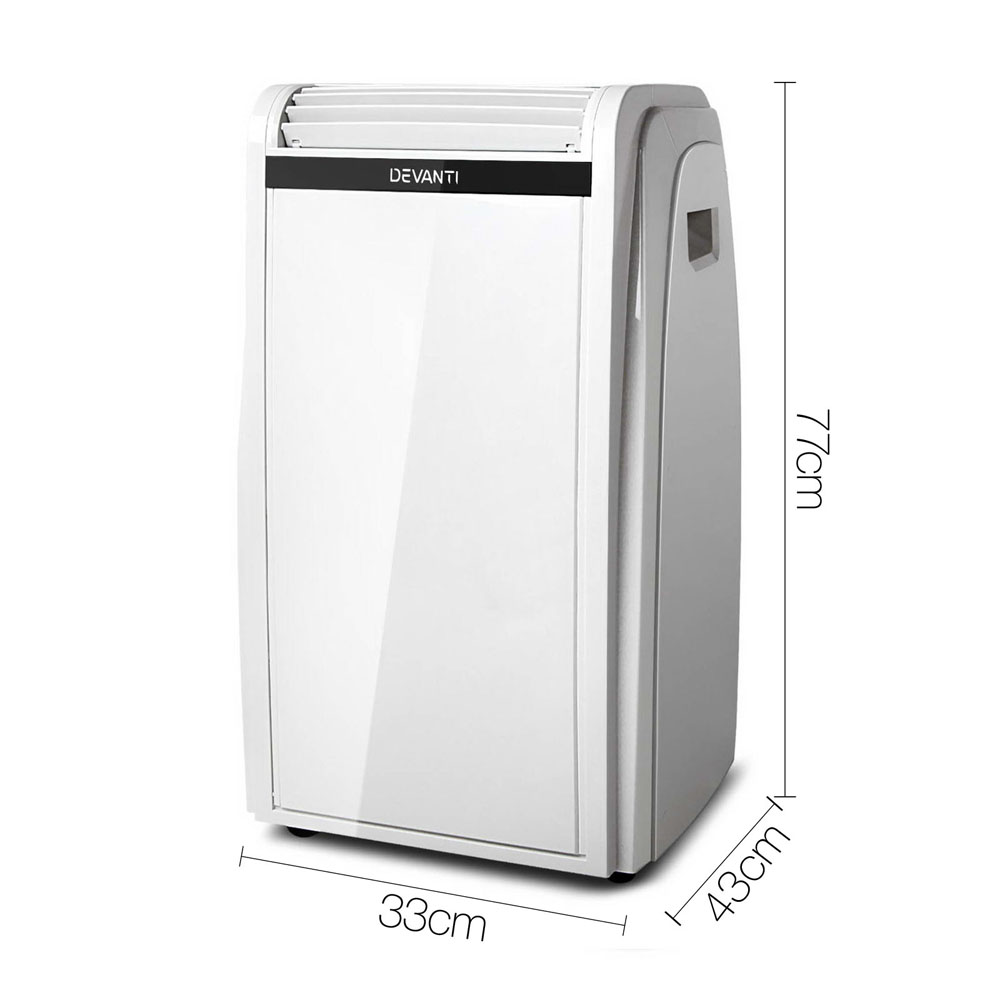 5c5fcaf9eb8 4 in 1 Portable Reverse Cycle Heater   Air Conditioner - 71L White ...