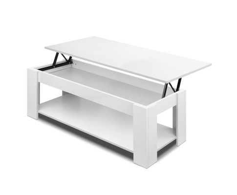 Pleasant Lift Up Top Coffee Table Storage Shelf White Furni G Cof Lift Wh Andrewgaddart Wooden Chair Designs For Living Room Andrewgaddartcom